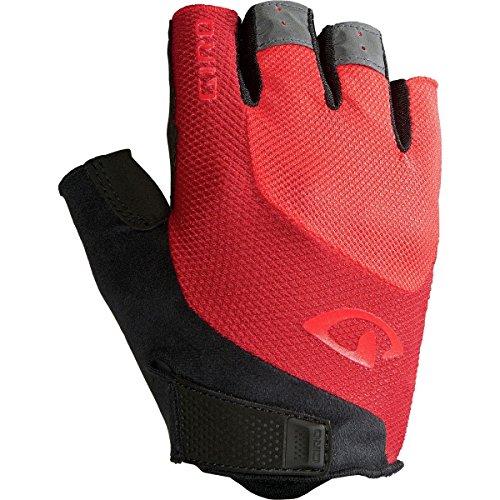 (Giro Bravo Gel Glove - Men's Bright Red, M)