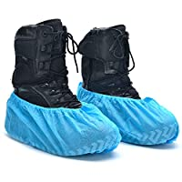 Strongman Tools High-Quality Extra-Thick Disposable Shoe Covers - fits boots