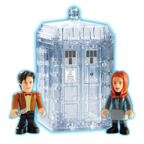 (Doctor Who Micro Figures Tardis Dematerialising Mini Set by Dr. Who)