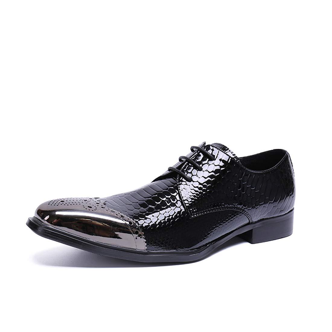 DANDANJIE Herren Kleider Schuhe Synthetischen Frühlings Herbst Comfort Oxfords Schwarze Party & Abend