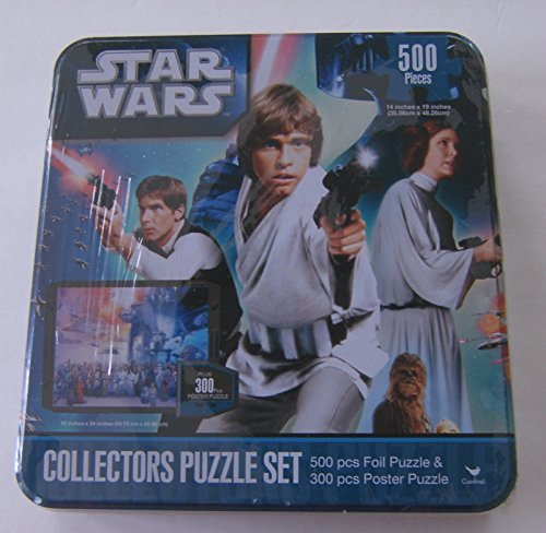 Star Wars Collectors Puzzle Set 500 Pc Foil Puzzle, used for sale  Delivered anywhere in USA