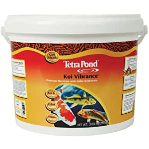 Tetra pond 16459 lb koi vibrancetm pond for Koi supplies