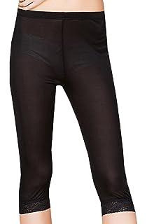 b6d166f7c CLC Women's Mulberry Silk Leggings Knitted Anti-Exposure Underwear ...