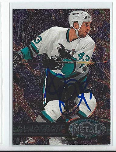 Al Iafrate Signed 1996/97 Metal Universe Card #137 - Hockey Slabbed Autographed Cards ()