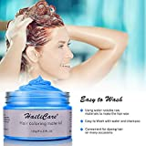 Blue Temporary Hair Dye Wax 4.23 oz, HailiCare