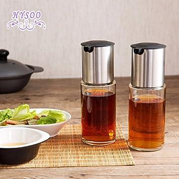GreenSun(TM) - Ollas de cristal para fugas de cocina, vinagrera, creativas