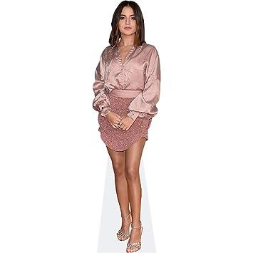 Amazon.com: Isabela Moner (traje rosa) recorte de cartón ...