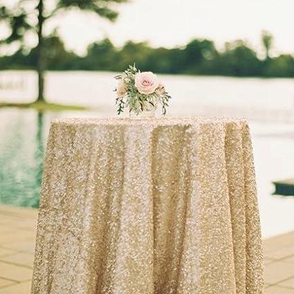 Amazon 50x50 square matte gold sequin tablecloth select image unavailable junglespirit Gallery