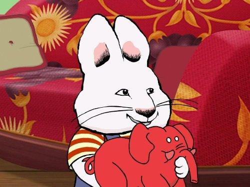 Ruby Elephant - Max's Red Rubber Elephant Mystery/Ruby's Toy Drive/Max and Ruby's Big Finish