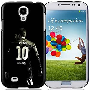 Unique DIY Designed Case For Samsung Galaxy S4 I9500 i337 M919 i545 r970 l720 With Soccer Player Lionel Messi 64 Cell Phone Case