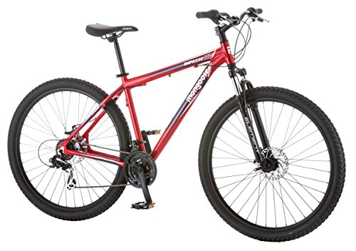Best price for Mongoose Men's Impasse HD Bicycle with 29″ Wheels, Red, 18″/Medium