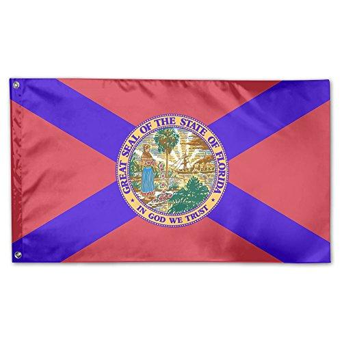 SIRLVLAY Florida Flag Yard Flags 3 X 5 In Indoor&Outdoor Dec