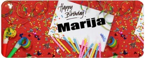 Risultati immagini per happy birthday marija