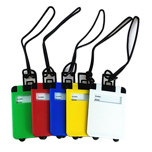 yueton Colorful Plastic Suitcase Identifier