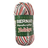 Spinrite Handicrafter Cotton Yarn, Ombres and Prints, 340gm, Mistletoe