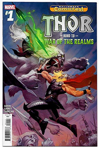 HCF Halloween ComicFest Thor Road To War Of The Realms #1 (Marvel, 2018) NM -