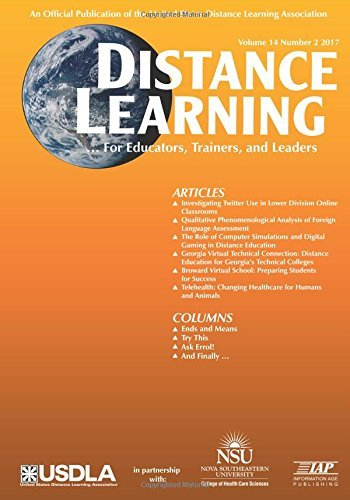 Distance Learning  Issue: 14 (Distance Learning Journal)