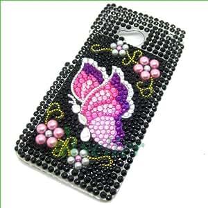 OVI 20 kinds of 3D Bling Diamond design Case cover For HTC ONE / M7 Bling Diamond Hard Case Crystal Rhinestone Back Cover SKin