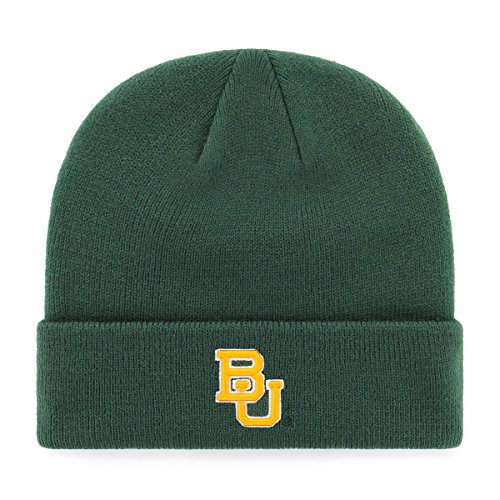 (OTS Adult Men's NCAA Raised Cuff Knit Cap, Team Color, One Size)