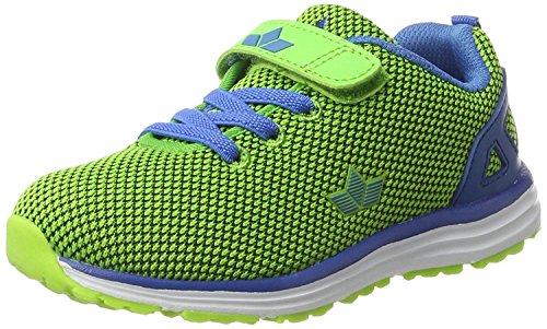 Lico Cube Vs, Zapatillas Para Niñas verde, azul