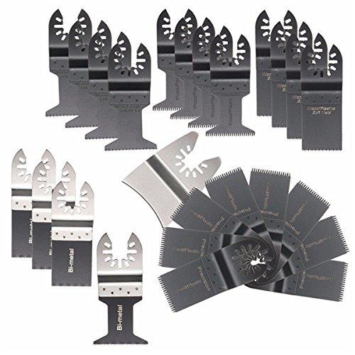 Price comparison product image Doradus 25pcs Saw Blades Oscillating Multi Tool for Fein Multimaster Bosch