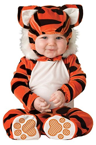 In Character Costumes 196440 Tiger Tot Infant - Toddler Costume - Black-Orange - Size 18 Months-2T