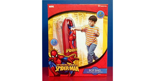 Amazon.com: Hedstrom Ultimate Spiderman Bop Bag- 42