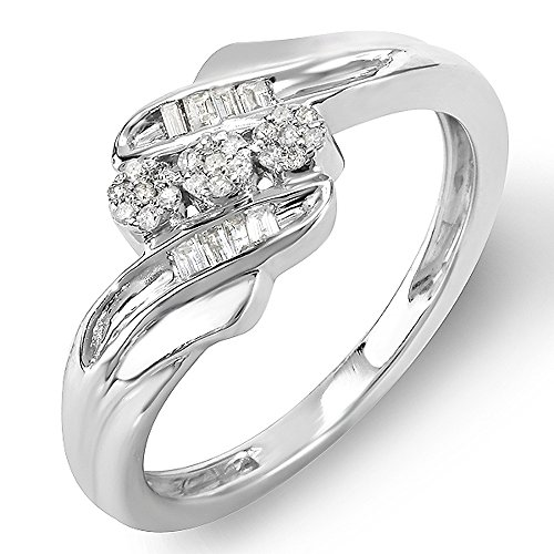 0.16 Ct Round Diamond - 5