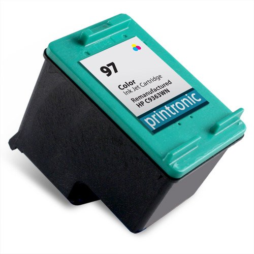 Printronic Remanufactured Ink Cartridge Replacement for HP 97 C9363WN (1 Color)