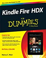 Kindle Fire HDX For Dummies Front Cover