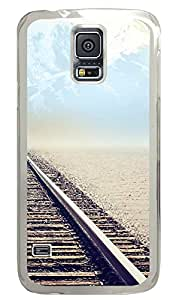 Samsung Galaxy S5 Cases & Covers - Mountain Tracks PC Custom Soft Case Cover Protector for Samsung Galaxy S5 - Transparent