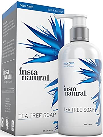 Tea Tree Oil Antifungal Soap - Foot & Body Wash - For Nail Fungus, Odor, Athlete