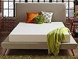 Live & Sleep Classic Twin Mattress - Memory Foam Mattress in a Box - Cool Bed in a Box - Medium Plush - Firm Support - Bonus Foam Pillow - CertiPUR Certified - 10 Year Warranty - Twin Size