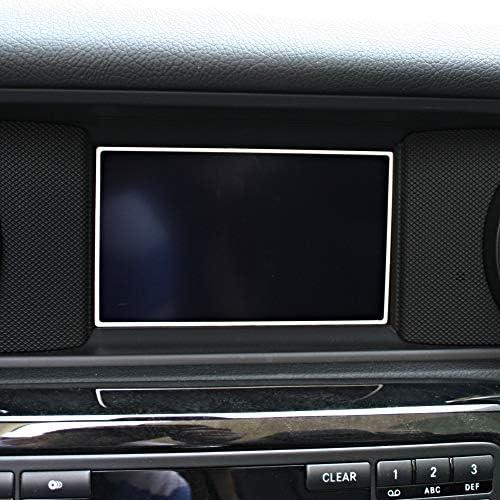 1 Zierrahmen Für Display Von Mercedes Slk 172 Aus Aluminium R172 Fl 280 200 350 Amg55 Amg45 Audio 20 Baumarkt