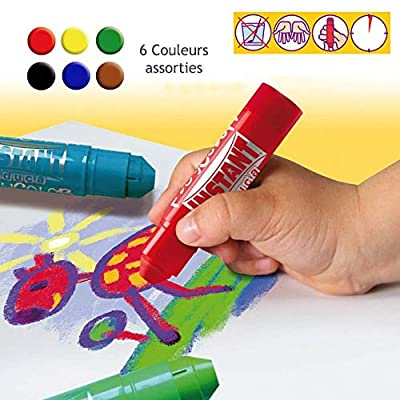 Playcolor Set Of 6 Colors: Arts, Crafts & Sewing