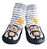 Best Shoes   Year Olds - Baby Boys Girls Moccasins ANTI-SKID Indoor Shoes Socks Review