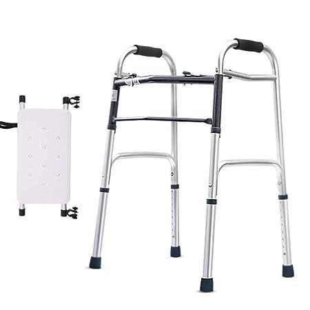 LHY-Andador Caminador Plegable De Movilidad Ajustable con ...