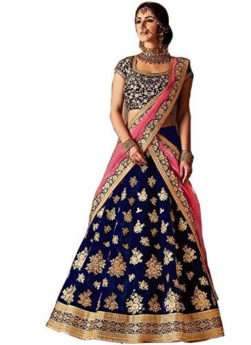 2cbb67dda887 designer bridal wedding lehenga choli for women Indian traditional ethnic lengha  choli: Amazon.ca: Clothing & Accessories