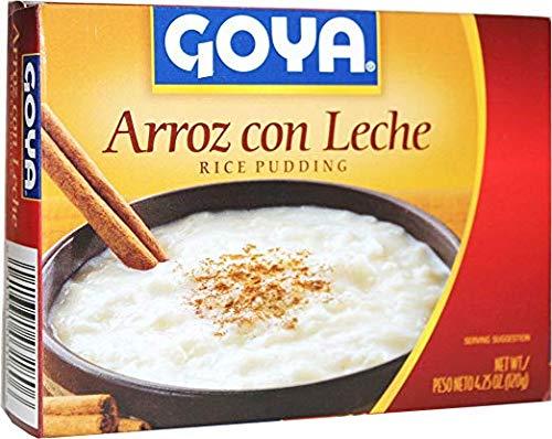 Rice Pudding Mix - Goya Arroz con Leche Rice Pudding 4 Servings 4.25 oz