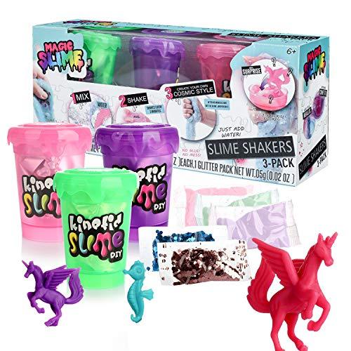 DmHirmg Shake Slime Shaker Kit DIY Making B(3 Pack)