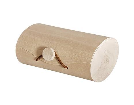 Caja de madera de 12 cm para sellos y premios, cajas de madera para manualidades