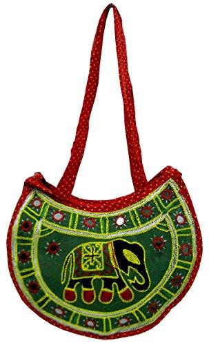 Crafts Multicolore Per La Of Tracolla India A Donna Borsa wrBOzw4Fq