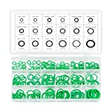#2: Neiko 50445A O-Ring Rubber Assortment Kit Set with Holder Case | SAE and Metric | 270 Pieces Variety Pack