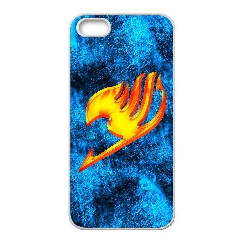 I5L21 Fairy Tail Y7D7FH coque iPhone 4 4s cellulaire cas de téléphone couvercle coque blanche XD9XIN9WU