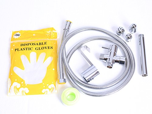 Enema Cleansing Kit Shower Enema System with 3 Nozzles (Handheld Shower Head Enema compare prices)