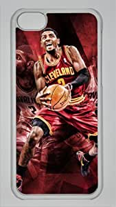 Lmf DIY phone caseNBA Cleveland Cavaliers #2 Kyrie Irving Custom PC Transparent Case for iphone 5c by icasepersonalizedLmf DIY phone case