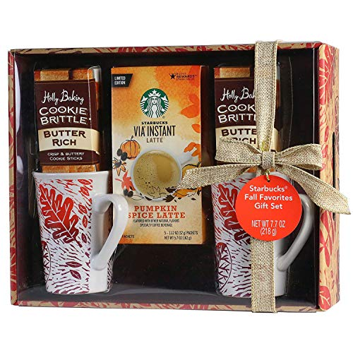 Starbucks Pumpkin Spice Harvest Latte Gift Set