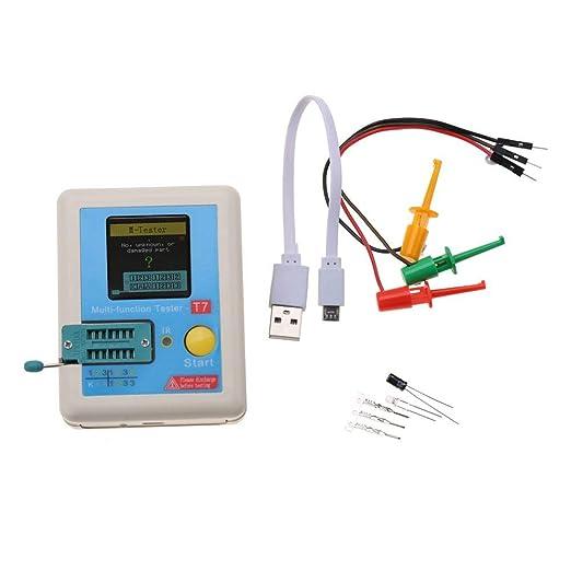 Transistor Tester Lcr T7 Tft Transistor Tester Farbige Grafikanzeige Multifunktions Gewerbe Industrie Wissenschaft
