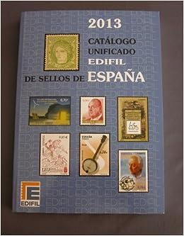 EDIFIL - Catálogo unificado de sellos de España: Amazon.es: VV.AA ...