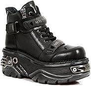 New Rock Newrock NR M.1065 S1 Black Boots - Unisex